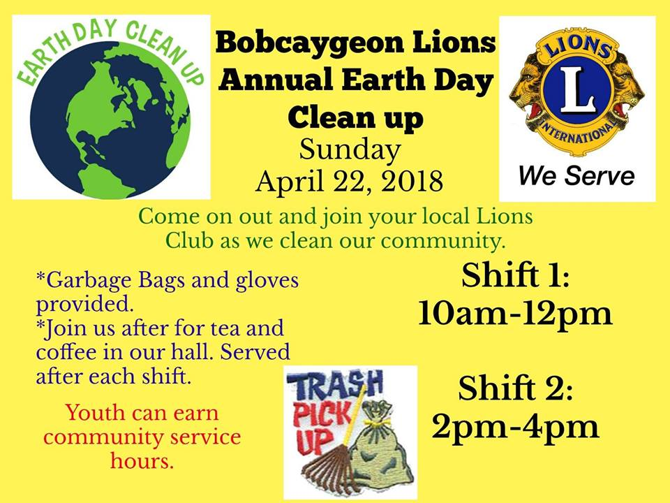 bobcaygeon earth day