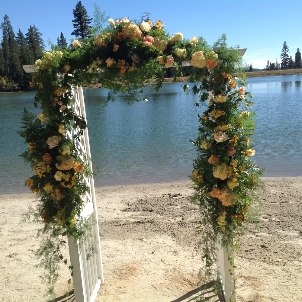 Bear Valley Lake (structure provided by wedding party)