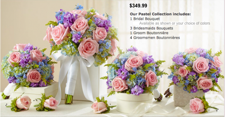 Weddings Flower Packages Blooms And Things Florist Call 209