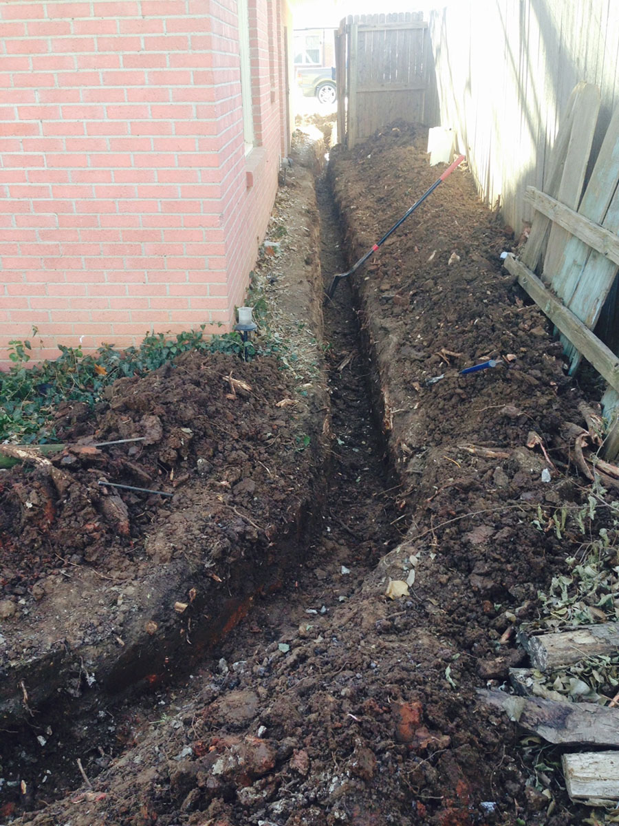 photos u2014 bill u0027s custom concrete u0026 yard drainage solutions