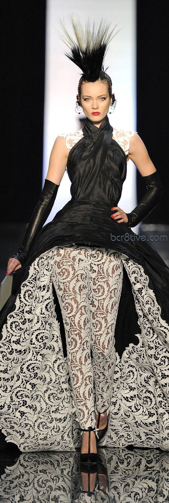 An example of haute couture: Jean Paul Gaultier Haute Couture Spring Summer 2011