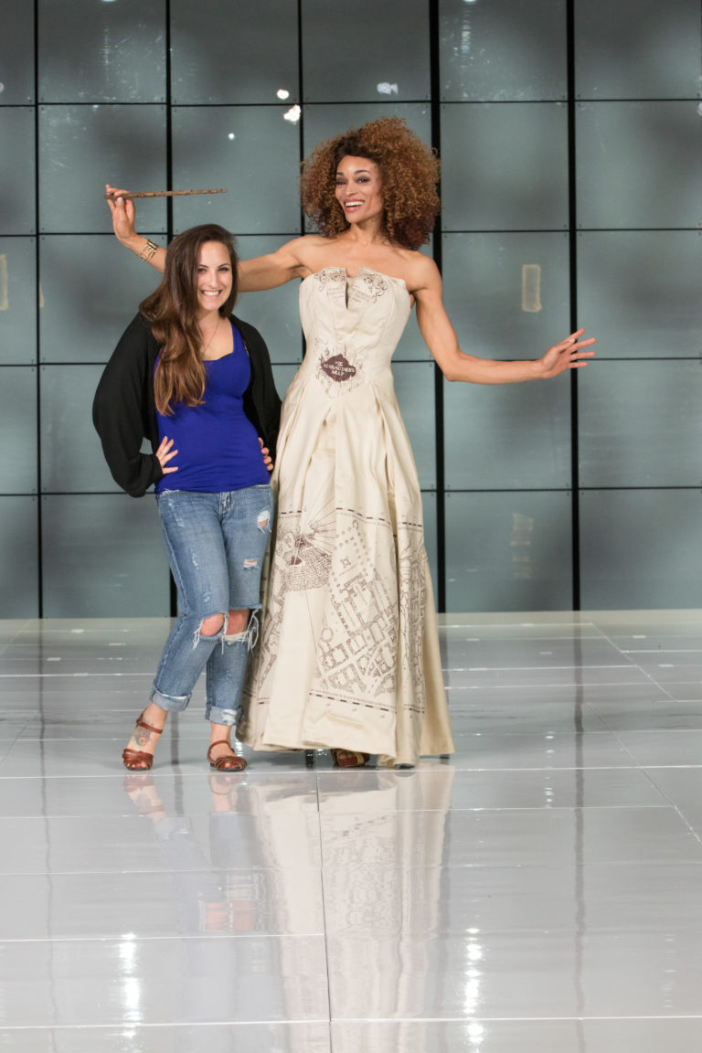 2016 Audience Winner  Camille Falciola    I Solemnly Swear I'm Up To Couture:  Harry Potter