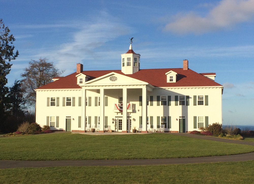 The George Washington Inn, located between Port Angeles and Sequim