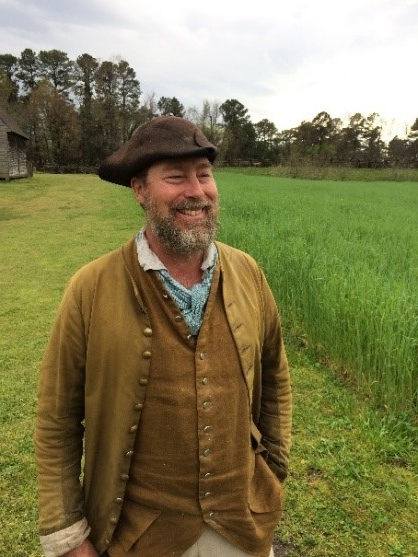 Great Hopes Plantation Rye Field, Ed Schultz, Journeyman Farmer