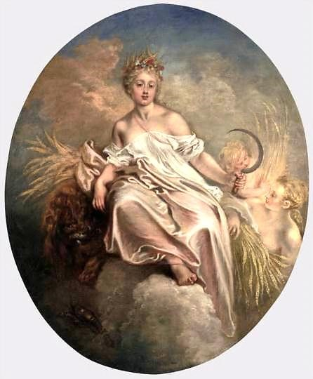 Antoine Watteau,  Ceres  (1717/1718);   Oil on canvas, 55 ¾ x 45 ½ inches;   Samuel H. Kress Collection, National Gallery of Art, Washington, D. C.