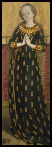 Maria in Ährenkleid (c. 1490), Bayerisches Nationalmuseum, Salzburg