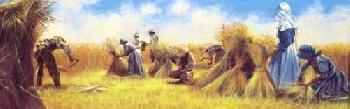 Hal Sutherford's  Wheat Harvest  (c. 1985)