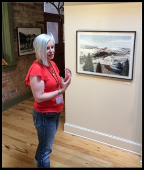 Katherine at Art Spirit Gallery, Coeur d'Alene, Idaho