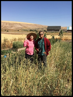 Katherine and Tom Schierman, Palouse Colony Farm (July, 2018)