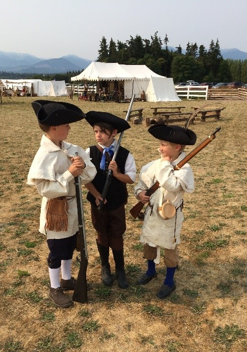 Three (Colonial) Musketeers
