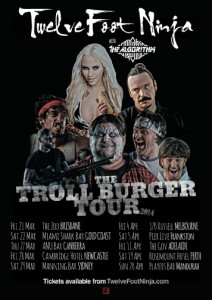Troll Burger Tour