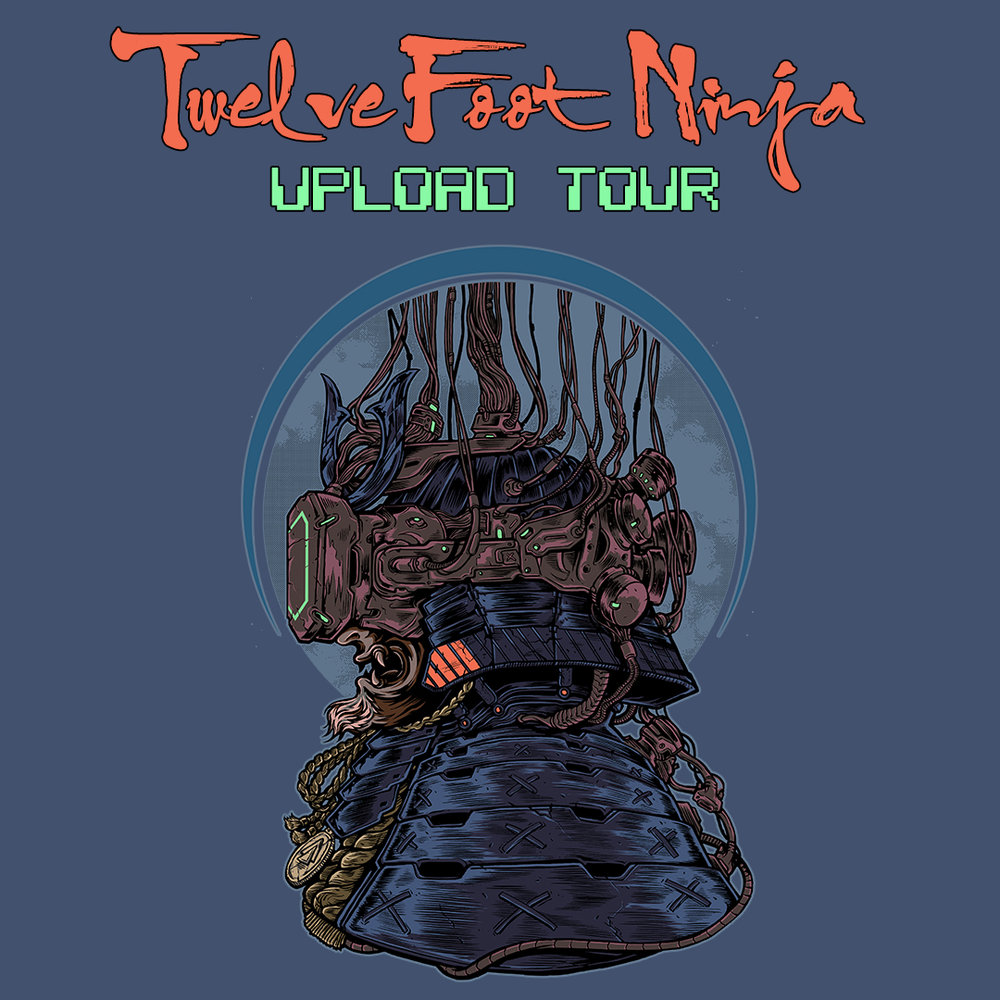 TWELVE FOOT NINJA - AUSTRALIAN UPLOAD TOUR    special guests include VOYAGER   SAT 2 MAR - The Rosemount, PERTH  FRI 8 MAR - ANU, CANBERRA  SAT 9 MAR - Download, SYDNEY  MON 11 MAR - Download, MELBOURNE  FRI 15 MAR - Miami Shark Bar, GOLD COAST  SAT 16 MAR - The Valley Drive Inn, BRISBANE  SAT 23 MAR - The Gov, ADELAIDE  TICKET INFO:  twelvefootninja.com/shows
