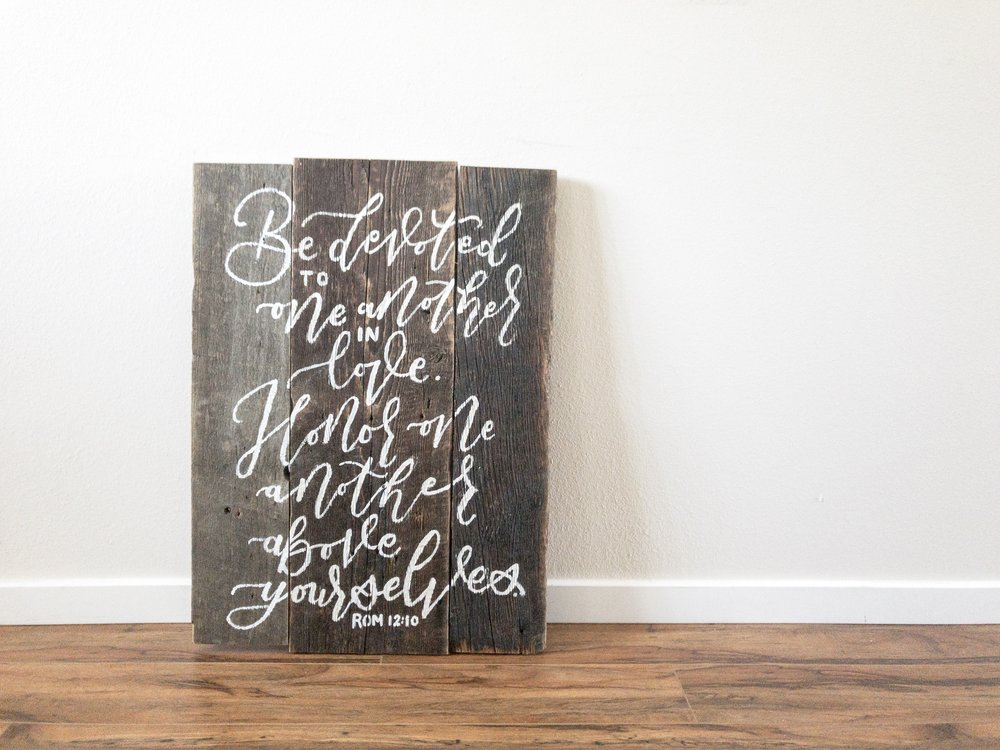 Copy of Reclaimed Barnwood Sign