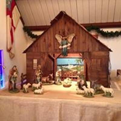 The Creche from St. Luke's Episcopal Church Roselle, NJ