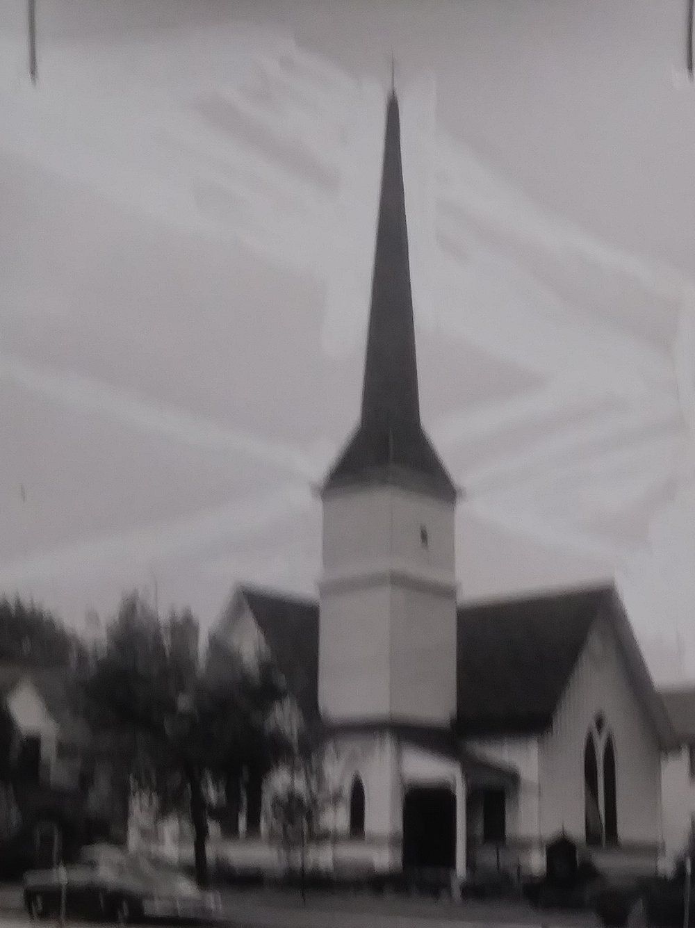 Original Grace Church on Walnut Street In Linden.