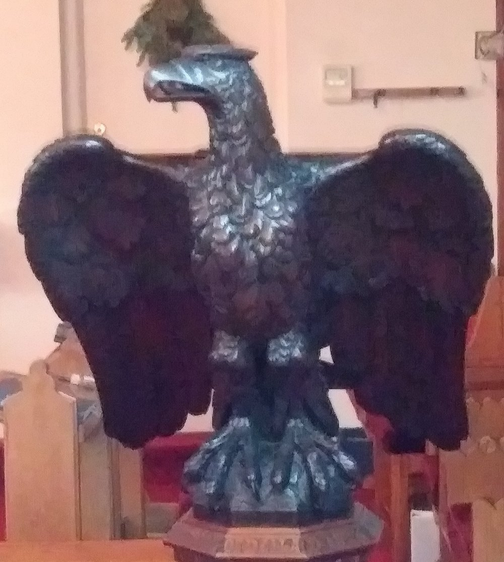 Eagle Lectern from St. Luke's Church
