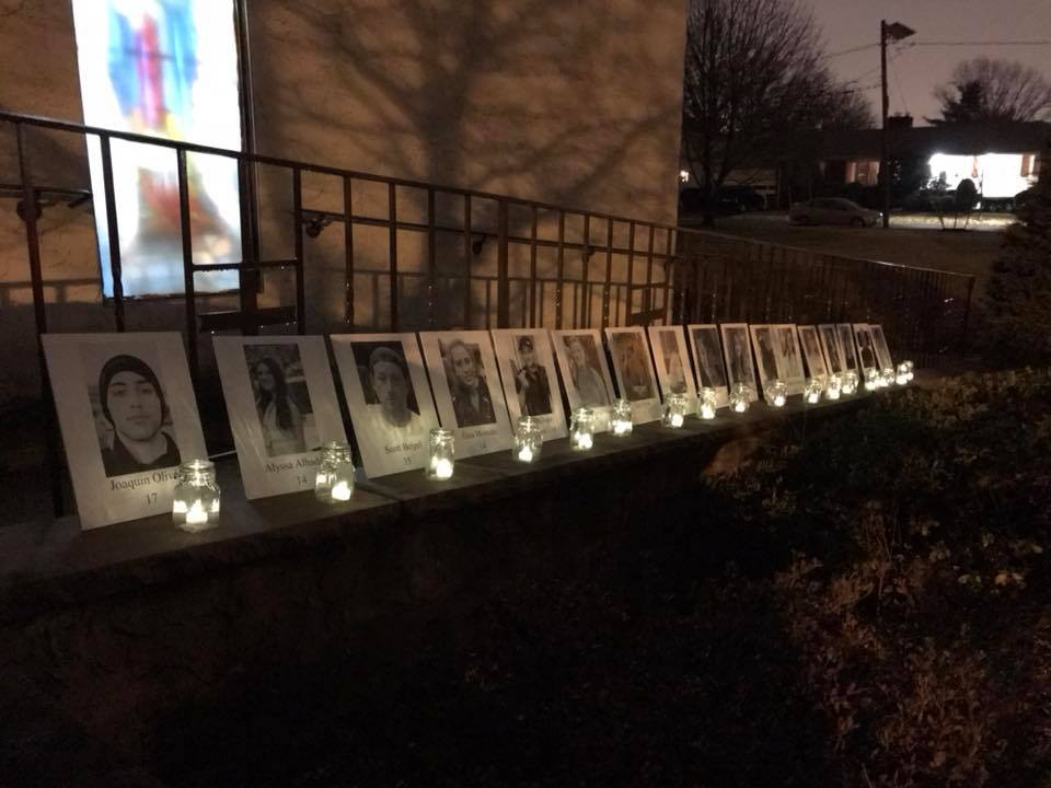 Memorial for Parkland Victims