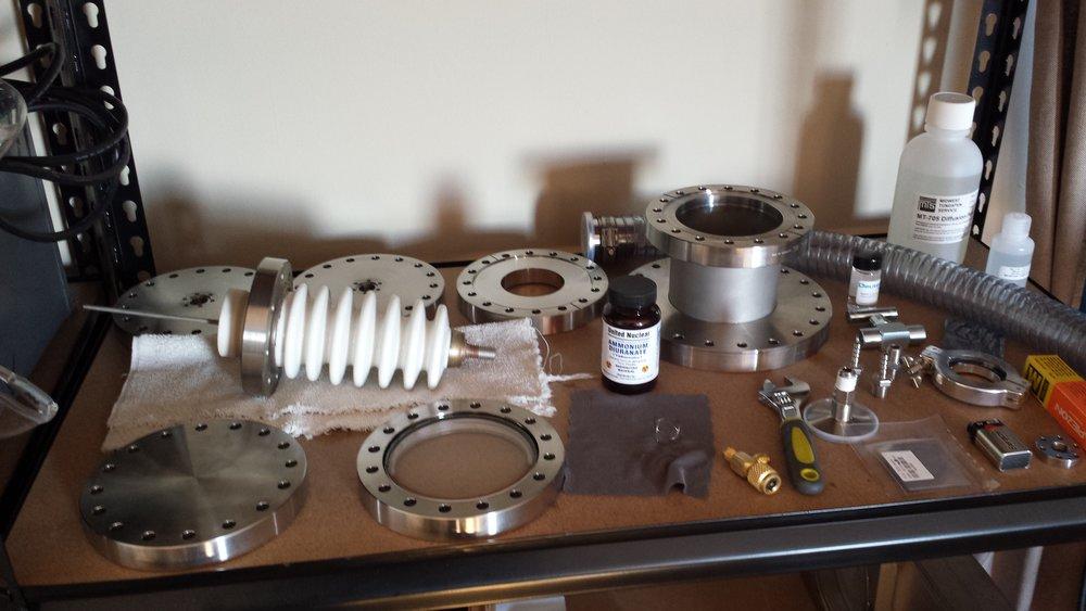 Various Vacuum Parts