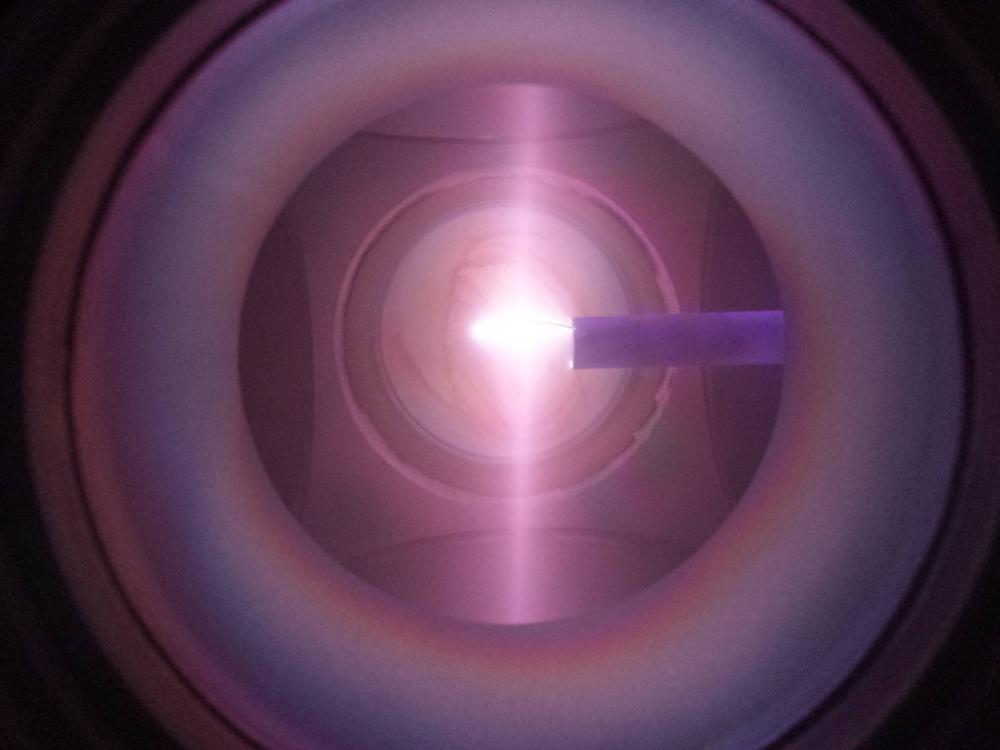 \(25~kV\) Plasma with Ring Cathode