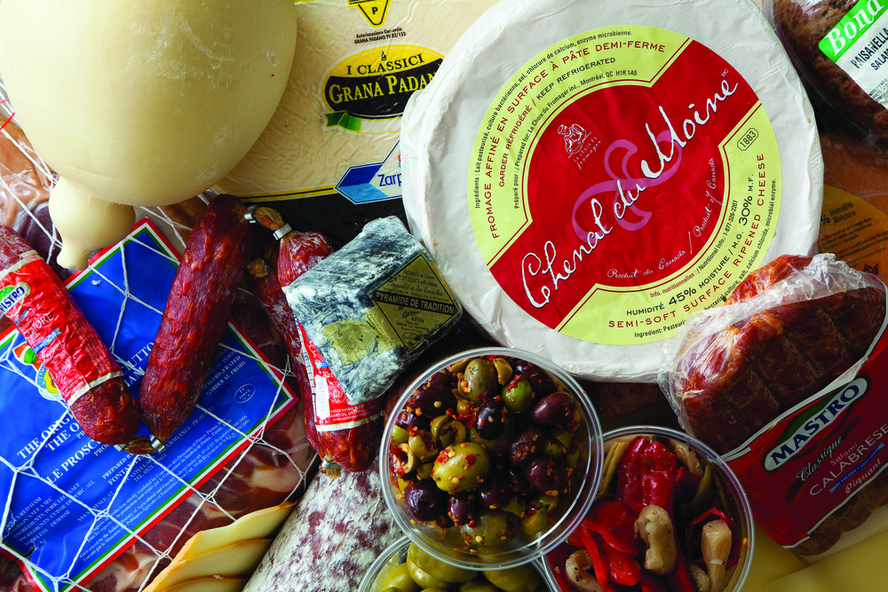 IMPORTED CHEESES AND CHARCUTERIE