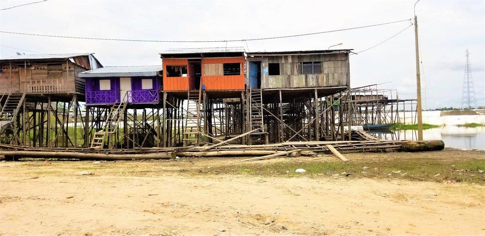 The Port of Iquitos Peru