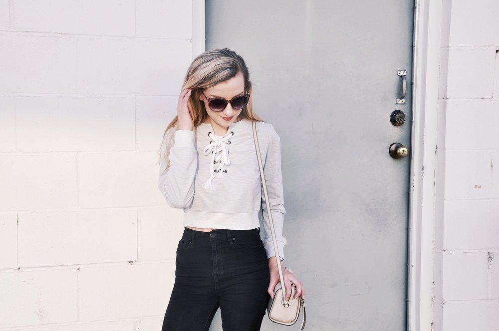 Sweatshirt:  Dressfo , Bag: Kate Spade