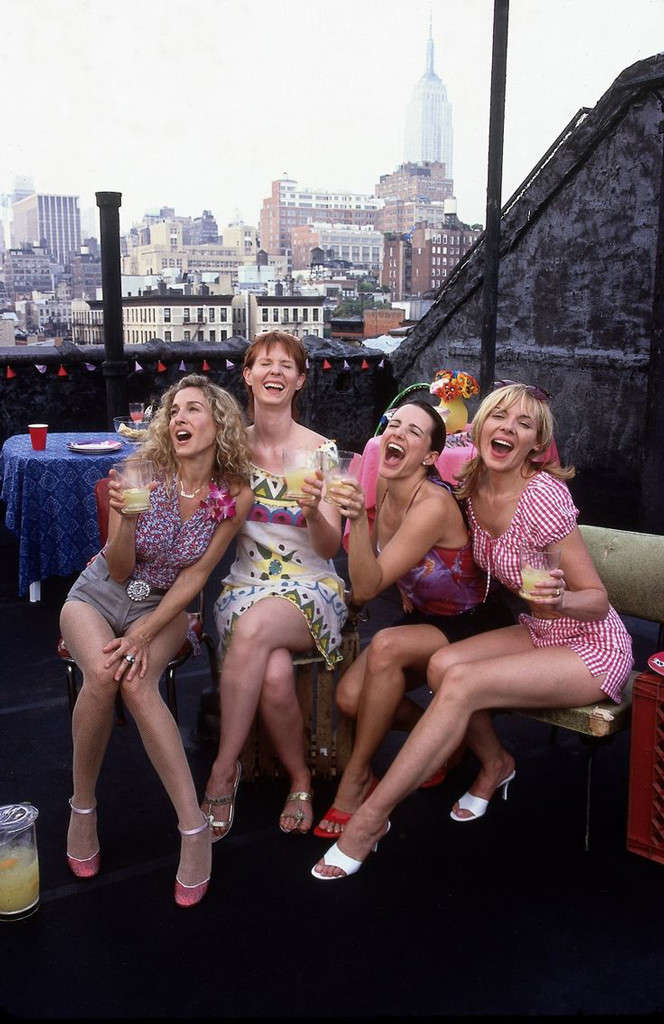 Sex & the City's Carrie, Miranda, Charlotte, and Samantha