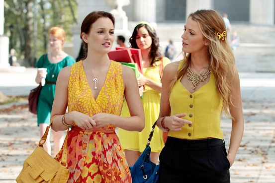 Gossip Girl's Blair Waldorf and Serena van der Woodsen