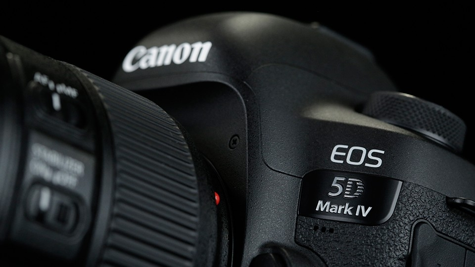 Canon 5D Mark IV... the new full frame digital camera from Canon