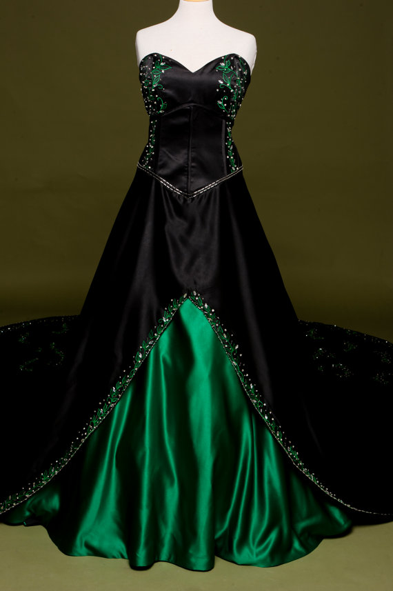 Poison ivy dress images