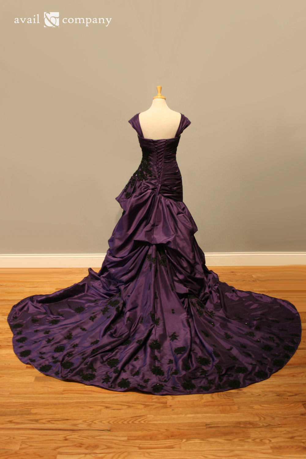 !Purple Wedding Dress Gothic Black Lace 004-0004.jpg