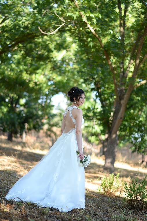 See Noy's stunning open back convertible lace wedding dress  Thanks to Noy and her photographer for allowing us to share these images.