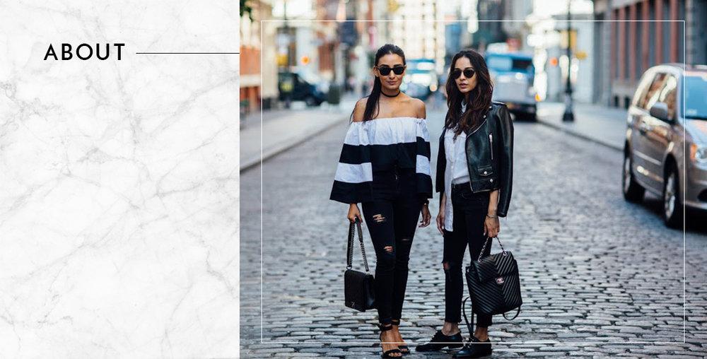 About New York it Girls Sana & Saman