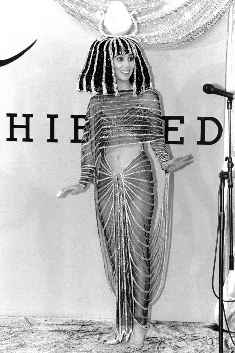 4.) The Queen herself, Cher as the iconic Cleopatra