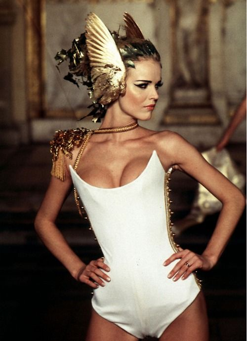 9.) Haute Couture look by Alexander McQueen. Imagine this straight off the runway <