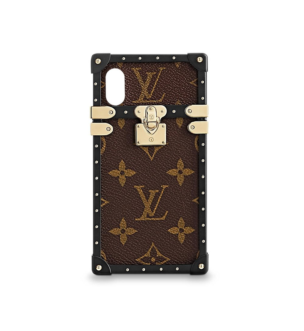 Louis Vuitton Eye Trunk for iPhone X