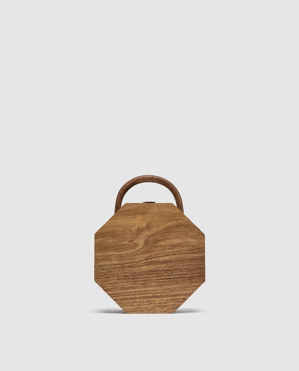 Wooden Minaudiere