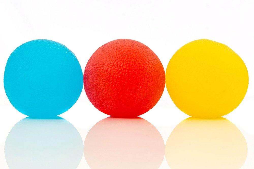 squishy stress ball