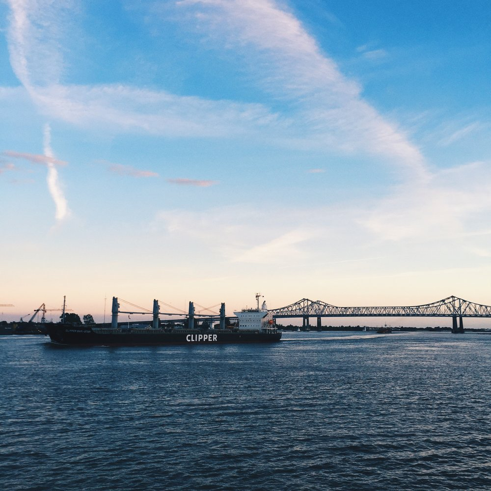The mighty Mississippi.