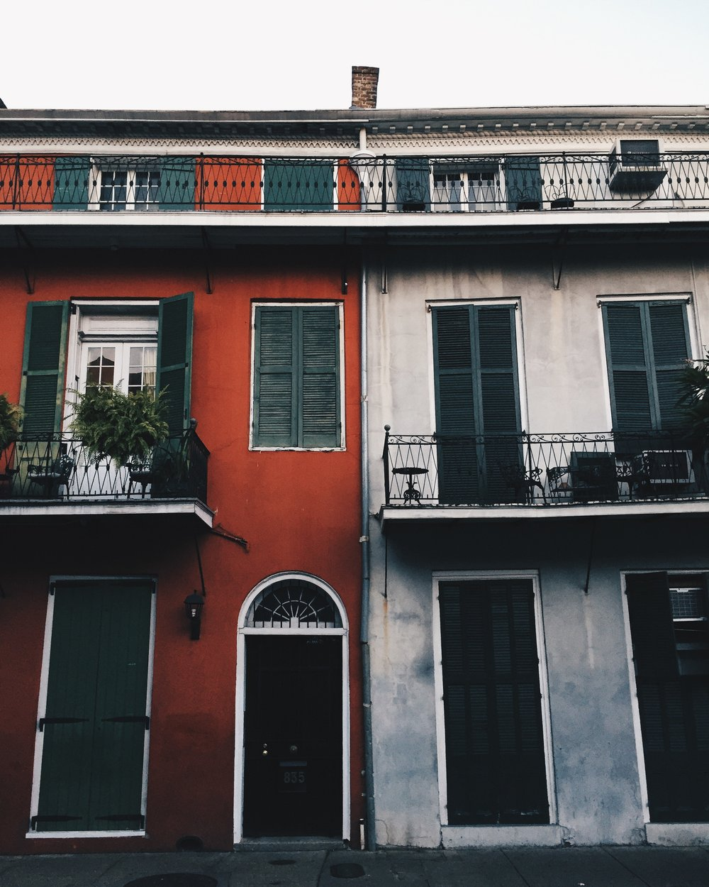 All the buildings are very colorful. Almost as colorful as San Francisco.
