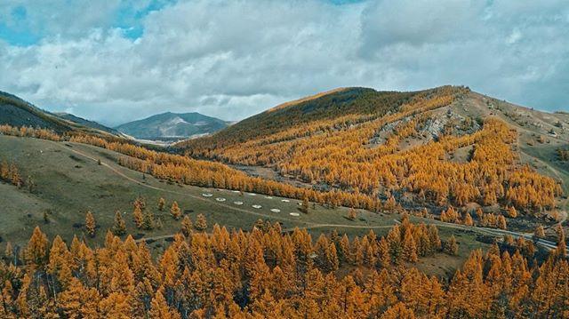 Autumn Aerials . . #landbridge #landbridgemedia #mongolia #drone #fly3dr #gopro #countryside