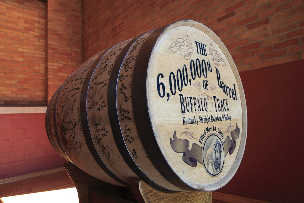 Buffalo Trace Distillery, the oldest continually operating distillery in the country, filled its six millionth barrel of bourbon since Prohibition, rolled it off the production line and into an aging warehouse on May 14, 2008.
