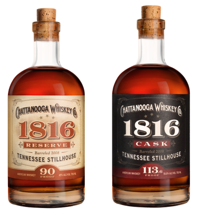 Chattanooga Whiskey released its 1816 expressions a few years ago and recently released its unique Tennessee High Malt in August. As the first legal distillery in Chattanooga in over 100 years, the distillery has taken a fresh approach to make its mark on the industry.  (Photo: Chattanooga Whiskey)