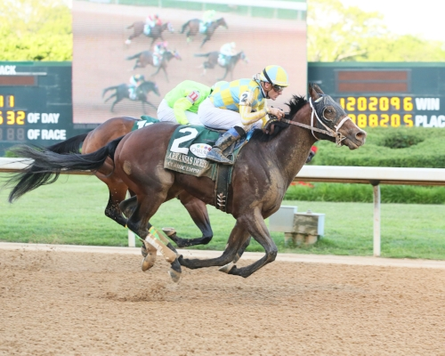 CLASSIC EMPIRE - The Arkansas Derby Gr II - 81st Running - 04-15-17 - R11 - OP - Finish.jpg