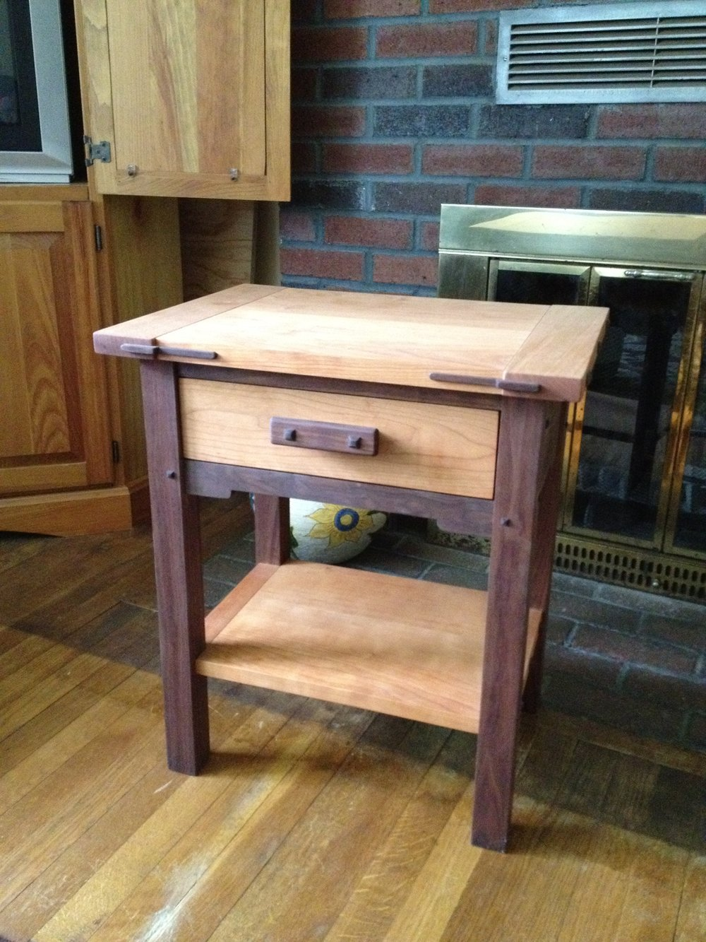 An Arts and Crafts style table I did as part of a furniture making course I took. The course was run by Jeff Lohr ( http://www.jdlohrwood.com/ ), and I highly recommend it if you have an interest in that sort of thing.
