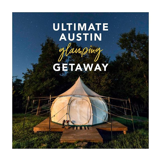 👂 LISTEN UP KIDDOS 👂 . So we've teamed up with some of our very favorite #austin brands to give you a chance to win the Ultimate Austin Glamping Getaway! . You'll win a 2-night stay here @greenacresatx, the premier glamping site in Austin, $400 worth of airfare or travel expenses and over $2500 worth of prizes from some of our favorite Austin brands . To enter, tap our bio link or head over to bit.ly/ATXGlampingGetaway . Best of luck & #atx for life