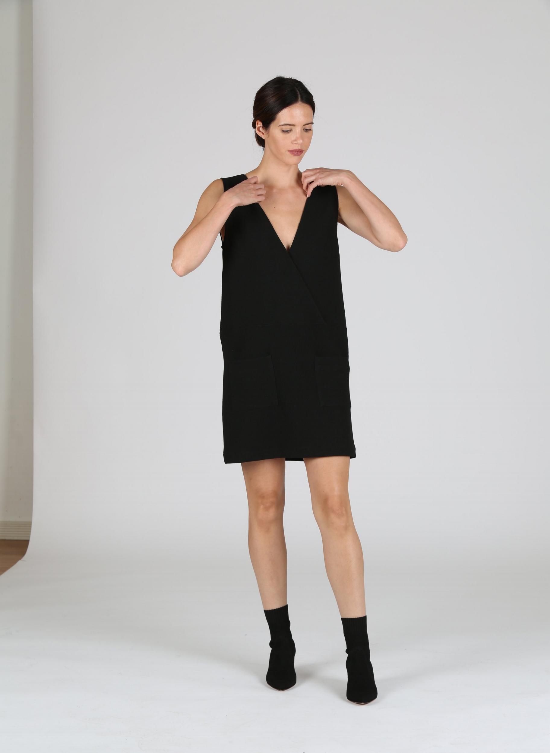 163232c3a2b0 Acoté Black Dress — NEWMA
