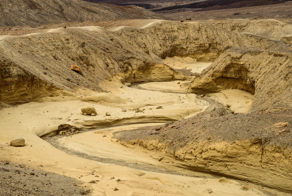 """Death Valley""_ dry creek"