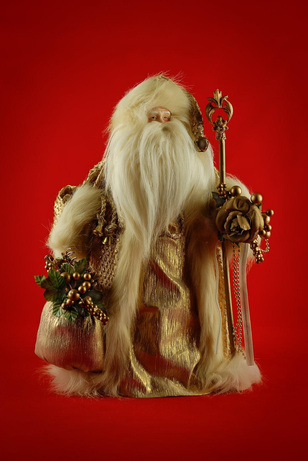 """"""" Golden Santa """""""
