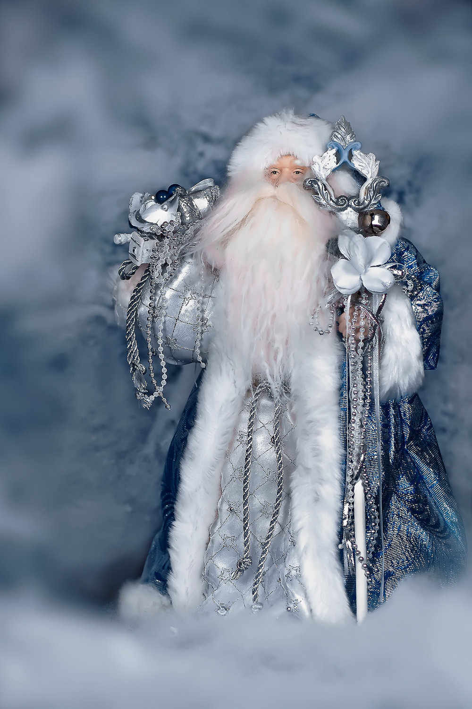 """ Silver Santa """